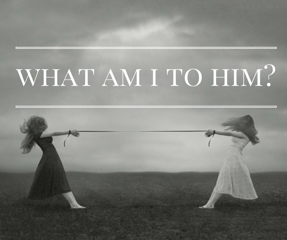 What Am I To Him? – Knowing the Narcissist : HG Tudor