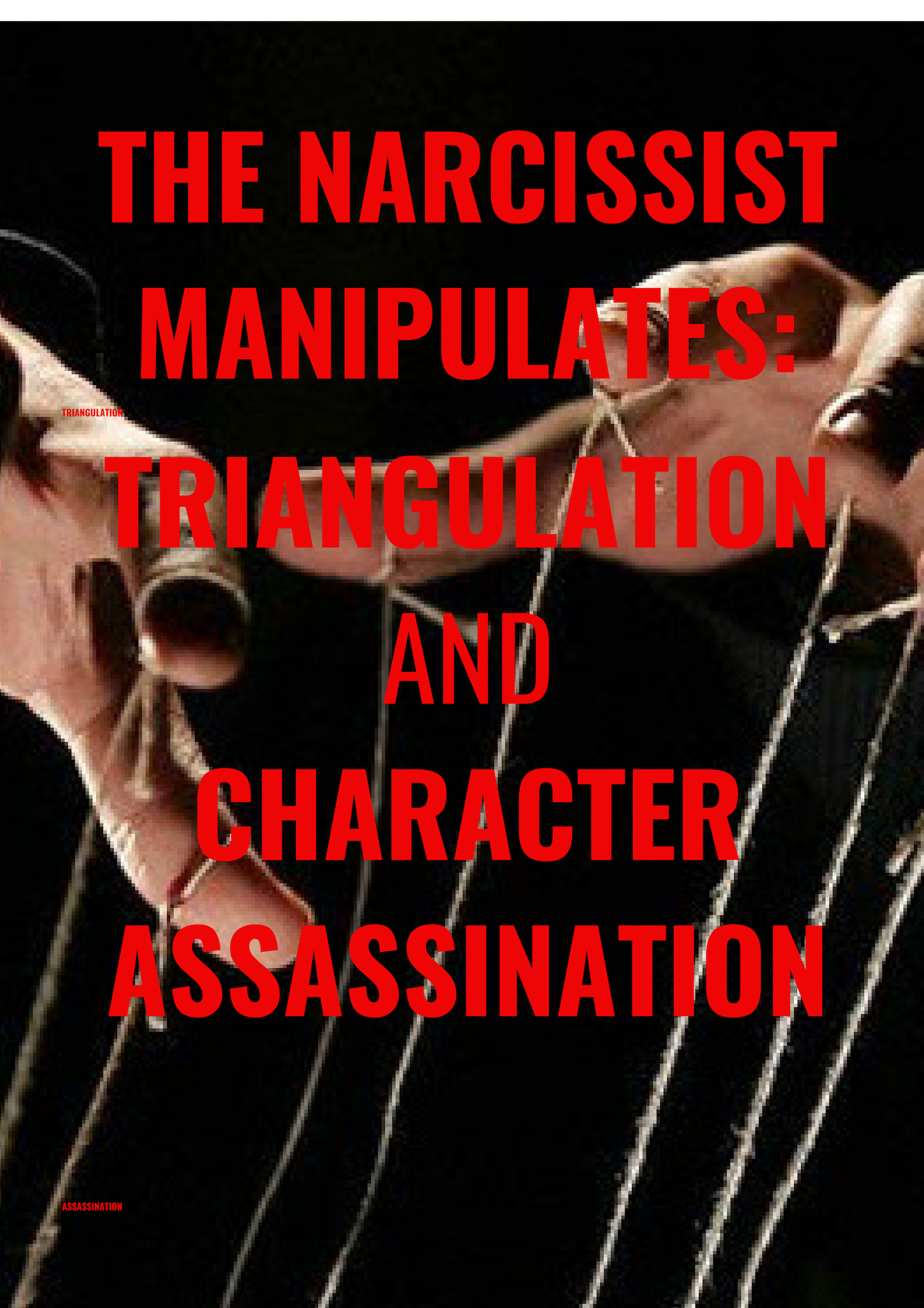 The Narcissist Manipulates : Triangulation and Character