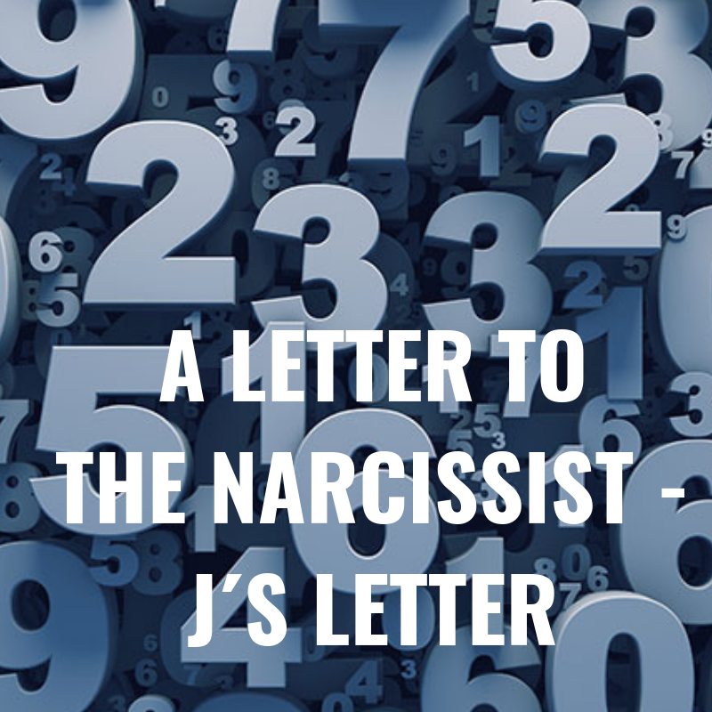 A Letter to the Narcissist – No  97 | Knowing the Narcissist : HG Tudor