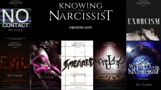 Where's My Hoover? – Knowing the Narcissist : HG Tudor
